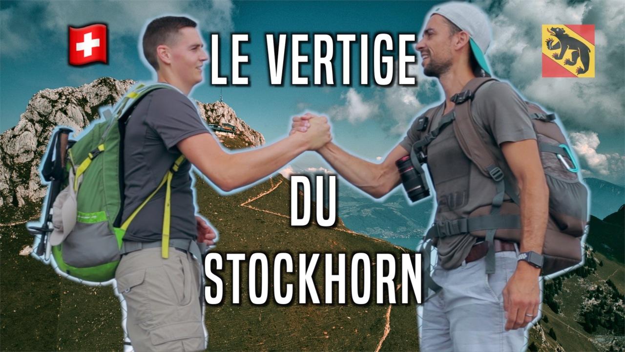Le vertige du Stockhorn!!!